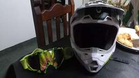 Vendo casco Fox v2 talle M