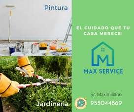 Servicio de Jardineria Y Pintura Profesional
