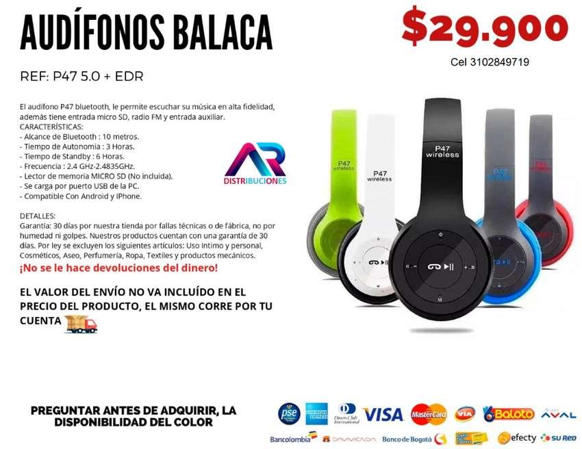 P47 Audífonos Balaca 0