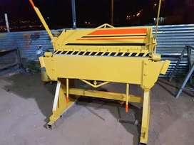 Dobladora de tool de 1.25 metros capacidad de doblez 2 mm
