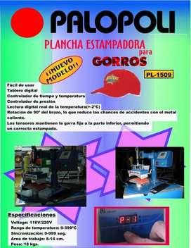 Plancha Gorros Palopoli 15x9cm