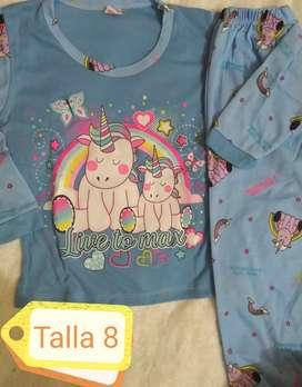 Hermosas pijamas luminosas para los pequeños de la casa