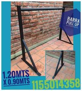 Barra pull up Dominadas