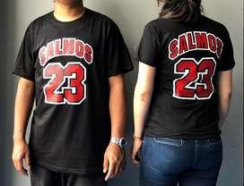 Camiseta Parejas Salmo 23 Hombre Mujer Nba Nfl Nhl Hip Hop