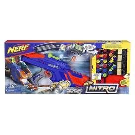 Nerf Nitro Motofury Rapid Rally Lanzador De Autos Hasbro