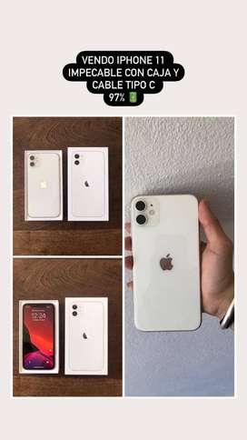 IPHONE 11 BLANCO 64GB MUY POCO USO