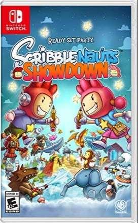 Videogame Scribblenauts Showdown Nuevo y Sellado para Switch