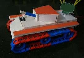 Maqueta Tanque de Guerra