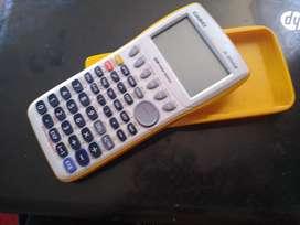 Vendo calculadora graficadora Amarilla