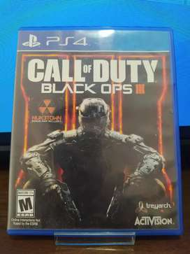 """Juego Playstation 4 """"CALL OF DUTY BLACK OPS 3"""""""