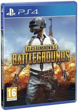 Juego player unkown ps4