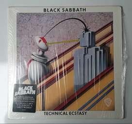 Black Sabbath Technical Ecstasy Lp Blanco Edición Limitada