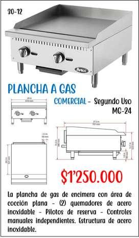 Plancha a Gas Comercial