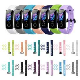 Correa silicona para Huawei honor band 4 y 5