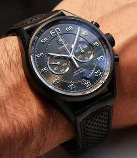 Reloj Tag Heuer Carrera Calibre 36 Automatico Carbon Car2b80 Como Nuevo