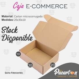 CAJA DE ENVÍO DE CARTÓN MICROCORRUGADO 20x30x10