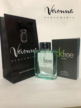 Perfume Ck Free Calvin Klein 100 Ml Veronna