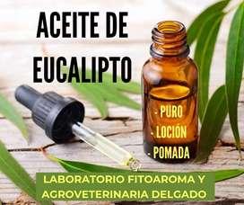 Venta de aceites esenciales (Eucalipto, Molle, Pino, Chilca)