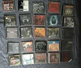 Colección de música (Metal y Rock)