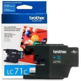 Cartucho Brother Lc71 Cy 300 Pg