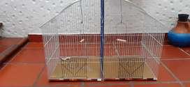 Jaula con divisiones y bandeja de recolección, (hámsters, ratones, conejos, pajaros)