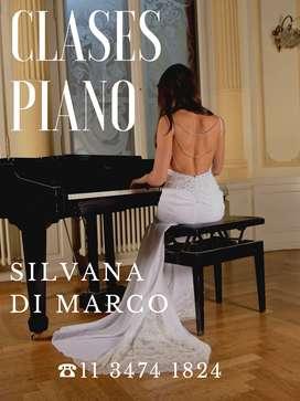 Clases de Piano y Teclados on line