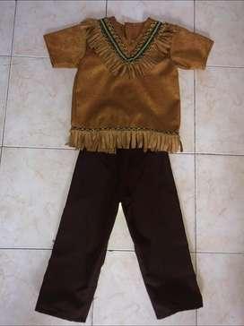Vendo disfraz de indio