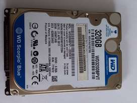 Disco Duro para portátil WD de 320G