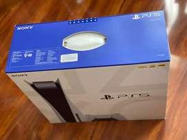Vendo PS5 unidad de CD