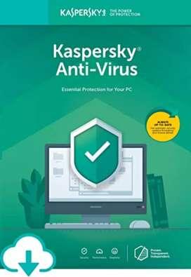 Antivirus Karspesky licencia por 1 año
