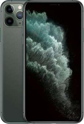 Vendo iPhone 11 promax de 64gb color space gray