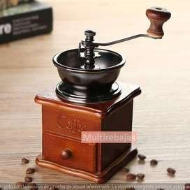 Excelente Molino De Café Caja Manual