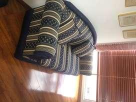 Sofa Cama con herrajes - Usado