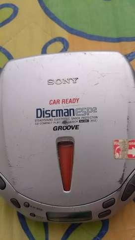 Discman car ready   funciona Sony