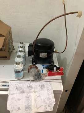 Unidad refrigeracion - motor refrigeracion congelacion NUEVO compresor