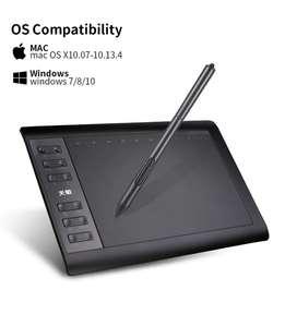 Tableta Digitalizadora Dibujo Tablet 10 Pluma Graficos Usb