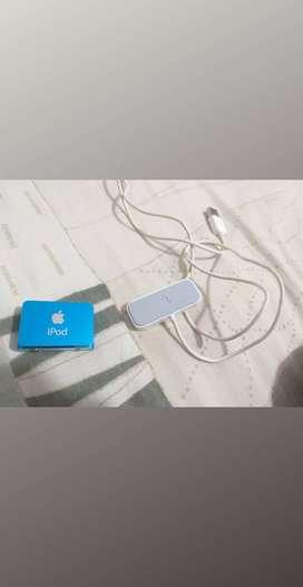 Vendo ipod shuffle con cargador original