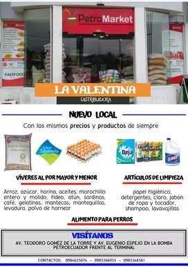 Distribuidora de abastos La Valentina