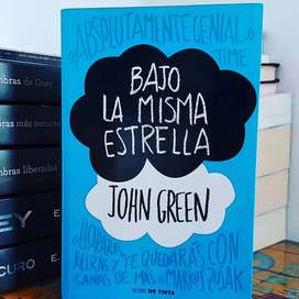 Bajo la misma estrella de John Green, editorial nube de tinta