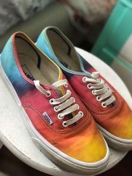 Zapatillas Vans Authentic de Colores degradé t.39/40