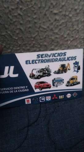 servicio de reparacion electrica y electronica e hidraulica de equipos vehiculares e industriales
