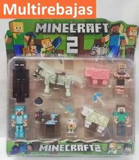 Muñecos Coleccionables  Minecraf 2