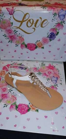 Venta de sandalias  de dama
