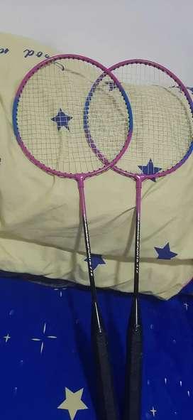 Raquetas para jugar badminton