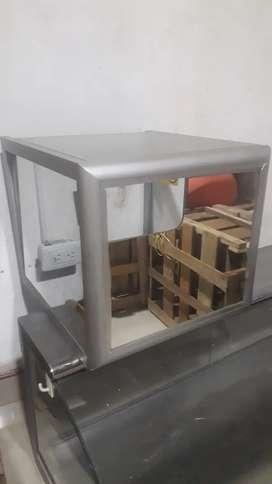 Vitrina espejo caja