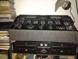 Consola GEMINI + DENON 2600+ RACK