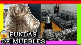 Forro De Muebles De Sala ELASTICADOS, Forro De Muebles Modernos- Oferta