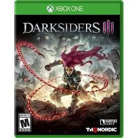 Darksiders Iii Xbox One, Físico, Nuevo Y Sellado