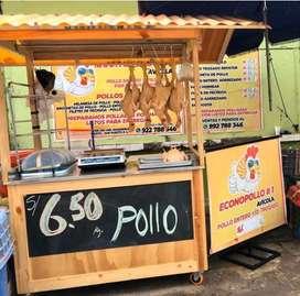 Alquiler Puesto Mercado para Avícola