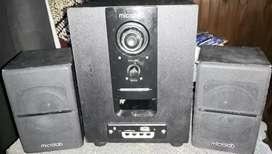 Micro componente exelente sonido y potencia